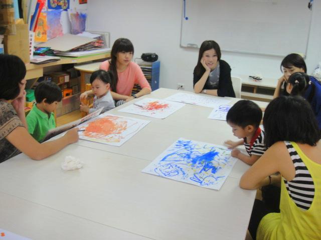 【103親子班】~(10/7)課程記錄