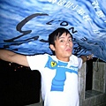 小范:別擔心,有我在!!!把這片藍藍的海頂到頭上,天就藍啦