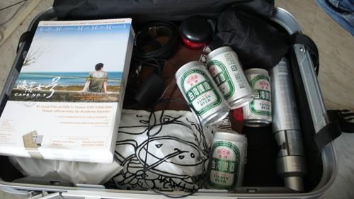 出國參展要帶台灣啤酒喔~