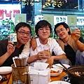 (左起)林書宇、程孝澤、魏德聖釜山相見歡
