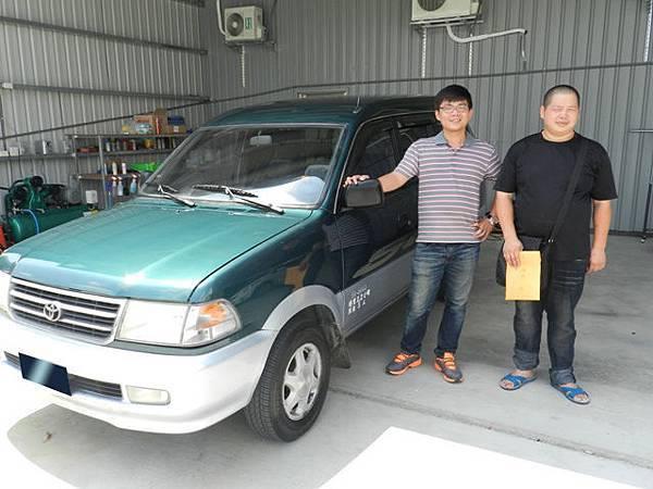 1999年 Toyota豐田 Zace 瑞獅 2.0 綠 彰化市 張先生 6月份.JPG