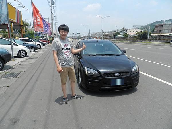 2006年Ford 福特 Focus 佛卡斯 手排 陳先生 台南 6月份.JPG