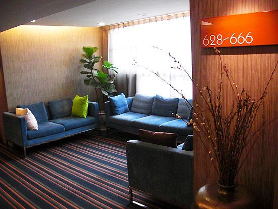 文華道會館客房層休息處