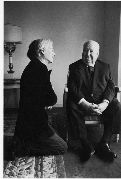 Andy Warhol & Alfred Hitchcock