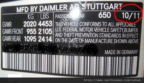 車身碼貼紙