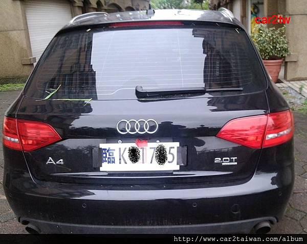 進口車AUDI A4的車主也是因為想先把車上部分小件行李在回家,請求Car2tw幫忙辦理臨時牌的喔,雖然已告知Car2tw可以幫客戶寄回,但是車主還是希望可以駕駛一下愛車,當然Car2tw一定要幫忙囉,你也有AUDI 的車想運回來嗎,CAR2TW的經驗可是很豐富喔