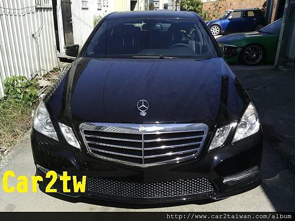 Benz E350為李先生在美國自用車想要運回台灣請car2tw協助相關事宜