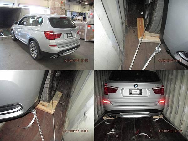 2015 BMW X3 XDRIVE28I 裝櫃照片.jpg
