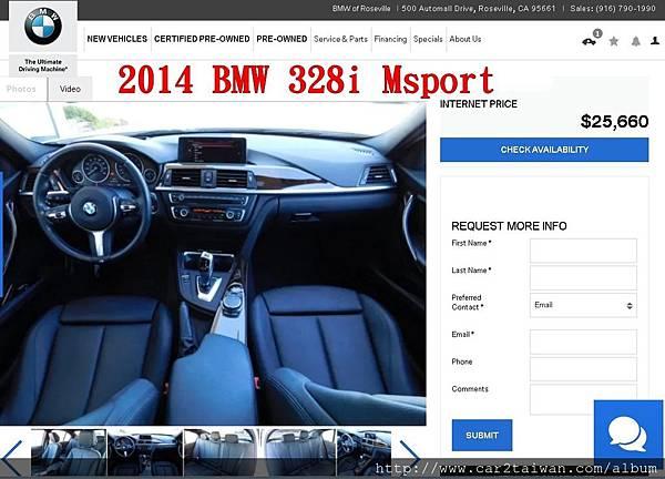 2015_BMW_328i_低里程數.jpg