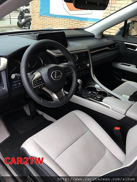 2017 Lexus RX350 內裝照片