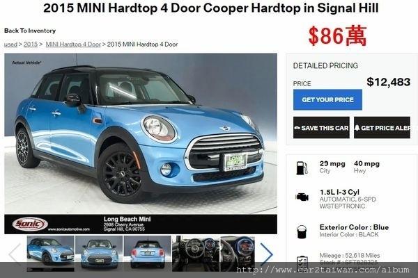 2015年Mini Cooper團購只要86萬.jpg