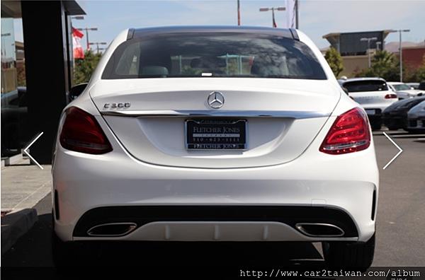 2015 BENZ C300 AMG 外匯車團購價格只要145萬, 美國賓士原廠認證中古車CPO只要145萬