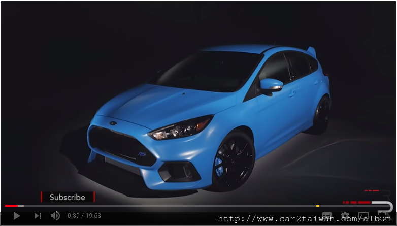 Ford Focus RS的介紹評價