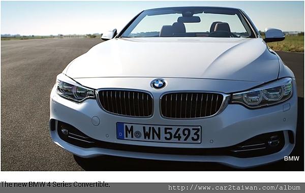 BMW 435i convertible影片介紹