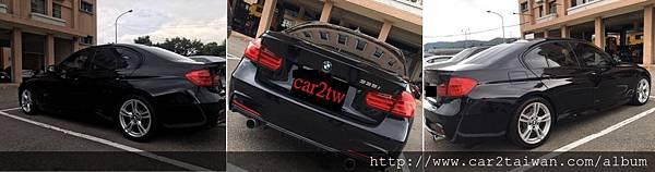 外匯車BMW 335i有價差王大哥請car2tw代辦美規車回台