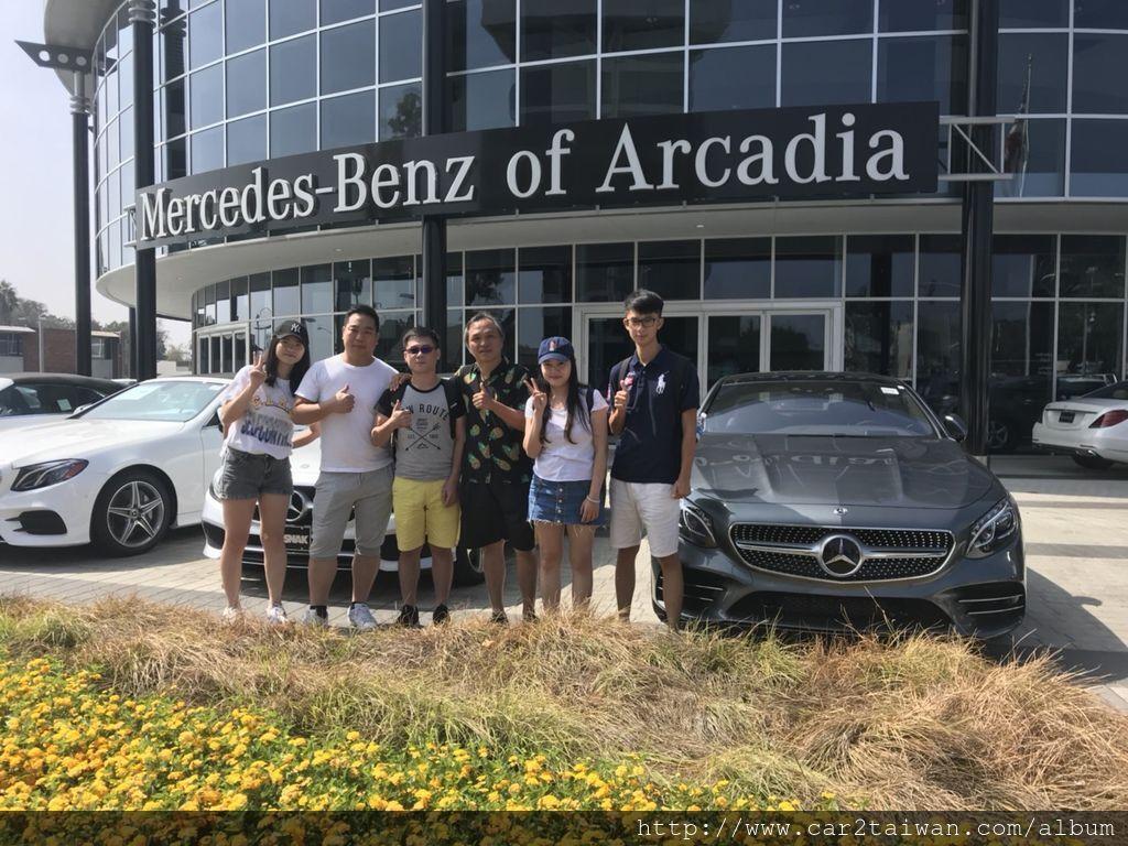 car2tw實際走訪參觀Mercedes-Benz of Arcadia美國賓士原廠認證,Mercedes-Benz of Arcadia是car2tw往來的原廠認證車商