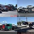 美國跨洲汽車拖運卡車無論在美國或加拿大任何地方,Car2TW的卡車團隊都能安全地將車輛送到車主指定地方