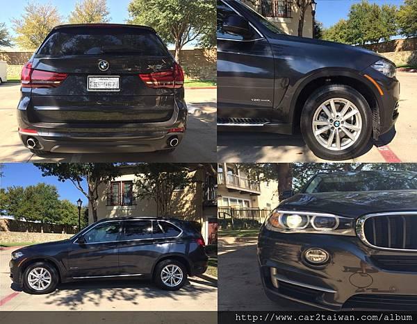 王小姐的外匯車BMW X5 xDrive35i 從美國運回台灣,順利領牌了