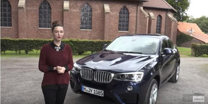 BMW 外匯車 X4影片