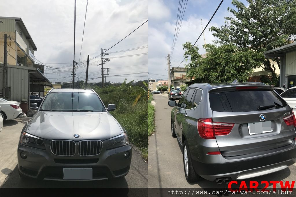 2011 BMW X3 XDRIVE28I 台灣領牌