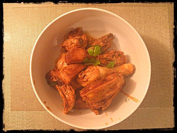 chicken with beancurd sauce