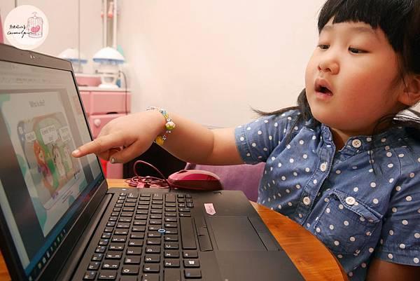 小孩體驗tutorJr牛津教材之過程照片1.JPG