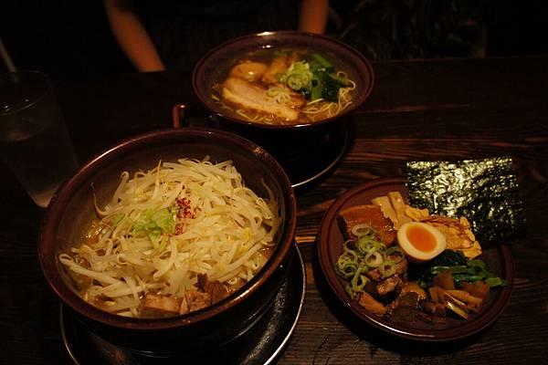 本日晚餐在新宿吃「光麵」