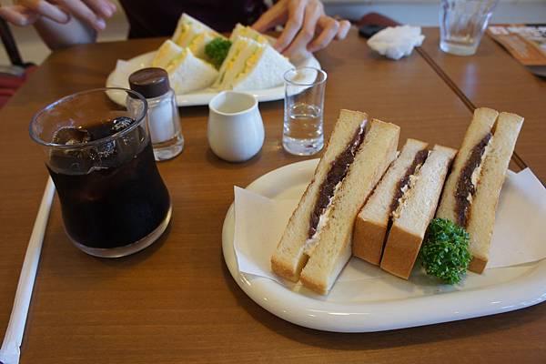 小倉紅豆三明治
