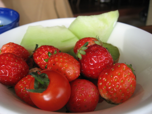 小田急早餐,好吃的草莓