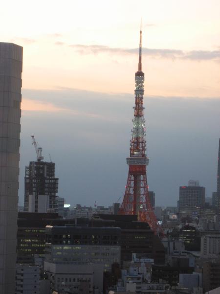 lounge可以看到東京鐵塔