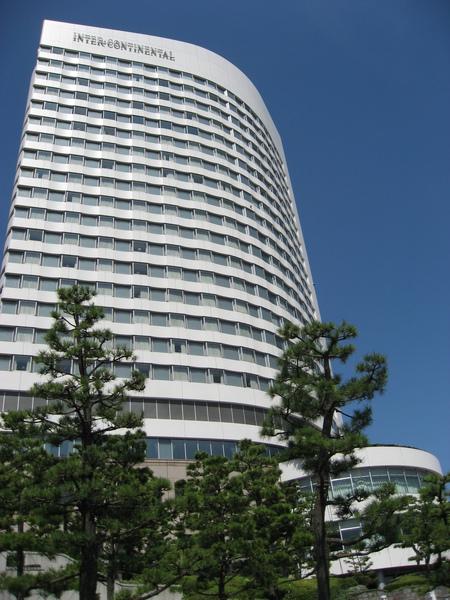 前兩晚的住宿 -- 洲際tokyo bay的club樓層