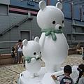 在哭泣的北極熊