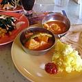 最後一天午餐,DECKS的印度料理吃到飽,1千日幣,還蠻好吃的