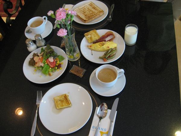 最後一天的早餐