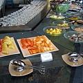 ginger早餐水果區,因為都沒人所以才可以安心照相