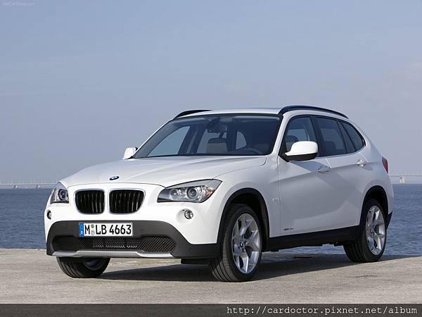 目前BMW X1準備坐船過來了