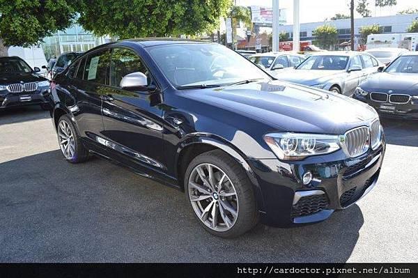 休旅也能很優雅 BMW X4,美規外匯新古車BMW X4價格、馬力、油耗,詳細開箱介紹。