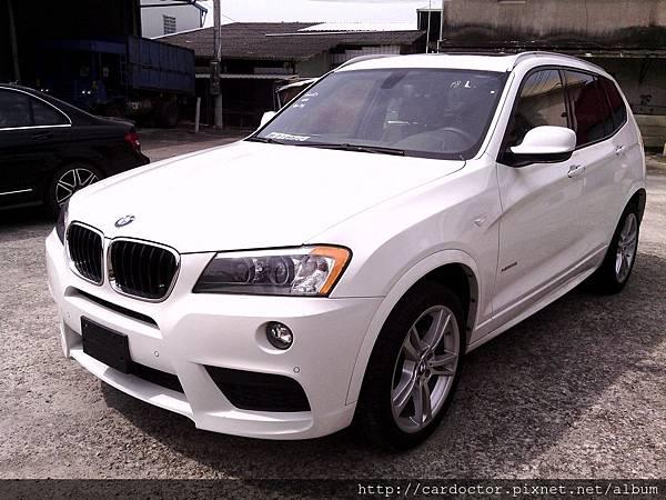都會休旅BMW X3,BMW X3-28i美規外匯新古車接單引進,BMW x3優缺點、馬力、油耗,BMW X3開箱介紹。
