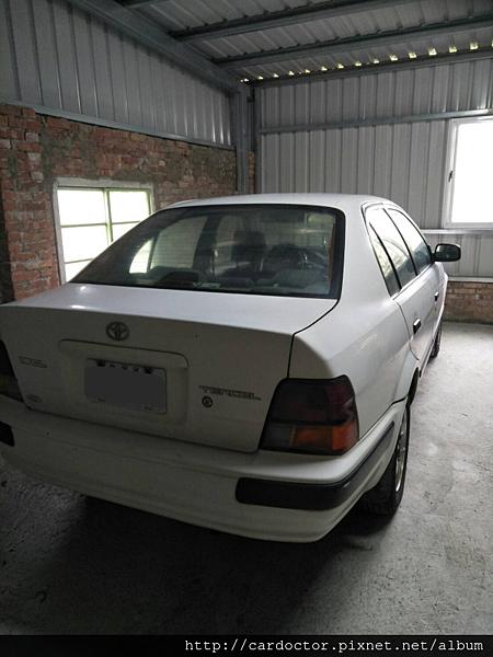 TOYOTA豐田國瑞汽車1.5 Tercel新竹中古車估價實例,TOYOTA豐田國瑞汽車中古車行情及車輛介紹。