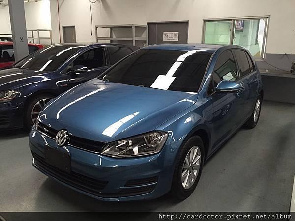福斯VW汽車2015 GOLf 1.2TL 台中中古車估價實例,福斯VW汽車中古車行情及車輛介紹。