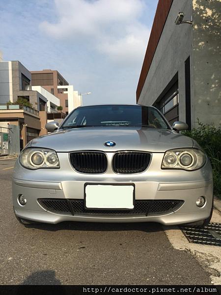 BMW寶馬汽車2005 120i台北中古車估價實例,BMW寶馬汽車中古車行情及車輛介紹。