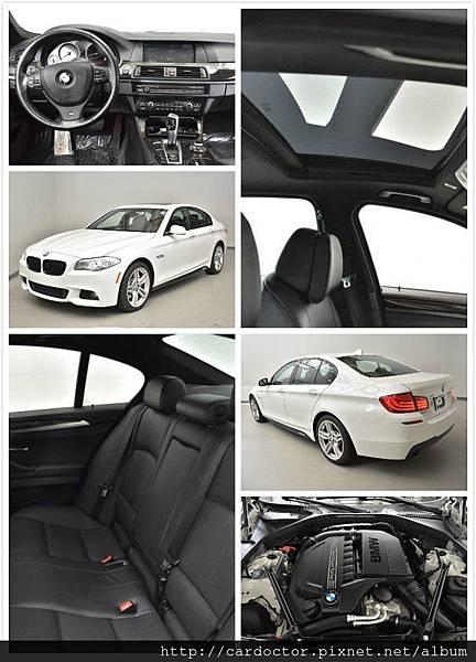 BMW 2013 535M-performance,只要155萬~里程:5.1萬mi,配備:M-performance套件、四輪傳動、倒車顯影、大螢幕、抬頭顯示器。美規外匯車商推薦LA桃園車庫。