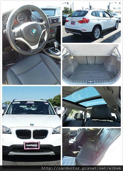 正2014年BMW X1-28i Xdrive美規外匯車接單代購引進中,里程:4.2萬mi,接單價只要120萬,四輪傳動、黑內裝、全景天窗。買外匯車推薦建議LA桃園車庫~