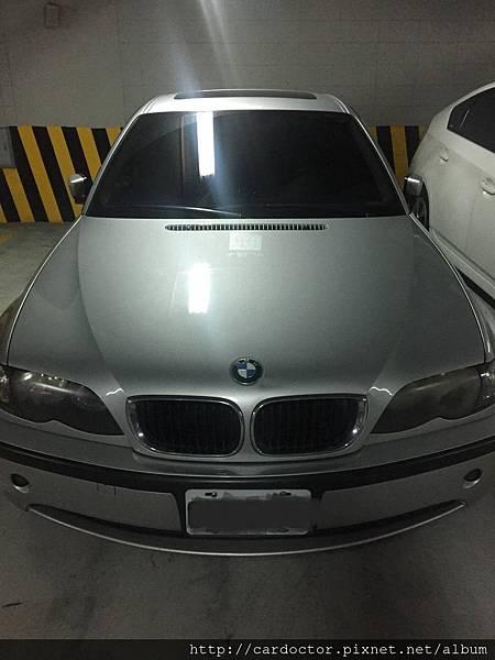 BMW寶馬汽車2003 318i台北中古車估價實例,BMW寶馬汽車中古車行情及車輛介紹。