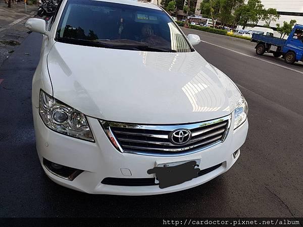 toyota豐田汽車2010 camry2.4G新北市古車估價實例,toyota豐田汽車中古車行情及車輛介紹。
