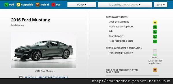 福特野馬 Ford Mustang安全性詳細解說分析,買賣接單代購美規外匯車推薦建議LA桃園車庫,全省中古車買賣估價建議推薦LA桃園車庫。