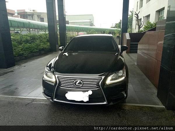 LEXUS凌志汽車2013 LS460長軸版本台北市古車估價實例,LEXUS凌志汽車中古車行情及車輛介紹。