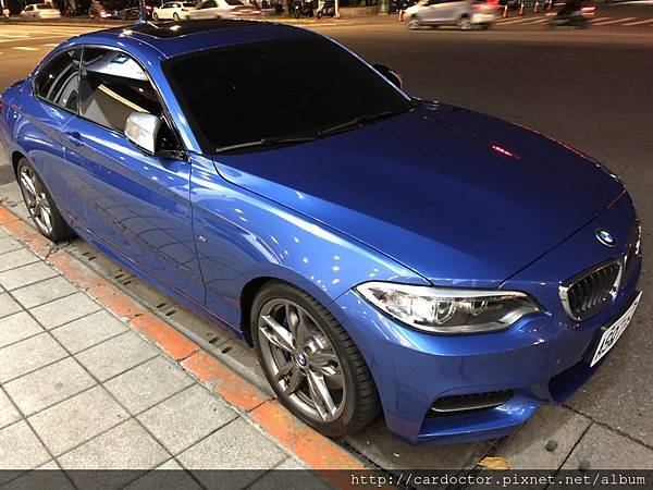 BMW寶馬汽車2014 235i桃園市古車估價實例,BMW寶馬汽車中古車行情及車輛介紹。