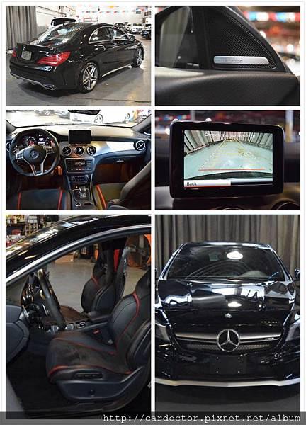 正2014年CLA45AMG,里程:4.9萬mi,售價:176萬。美規外匯車推薦LA桃園車庫、買賣進口二手車推薦LA桃園車庫。