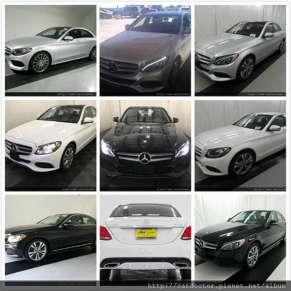 LA桃園車庫W205 C300美規外匯車專屬車源表,全部實車實價,買賣賓士W205 C300外匯車推薦建議LA桃園車庫。